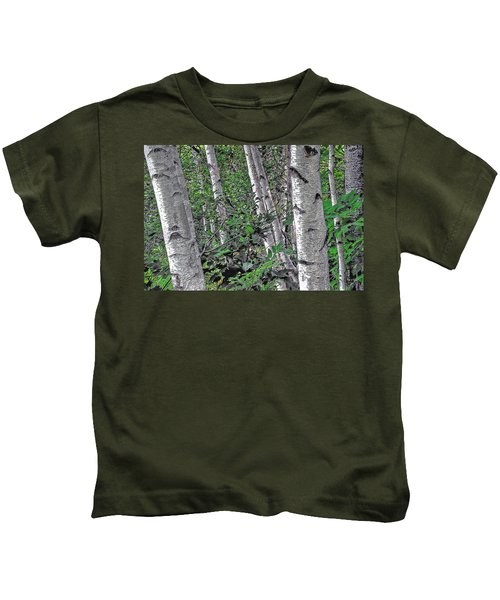 Birches Kids T-Shirt