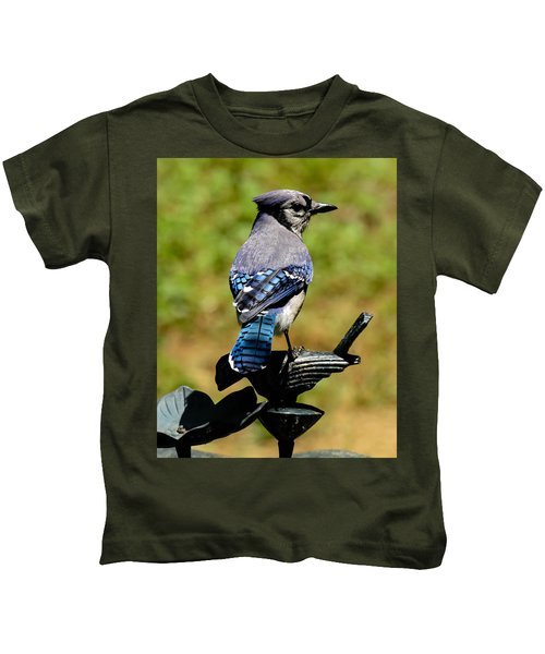 Bird On A Bird Kids T-Shirt