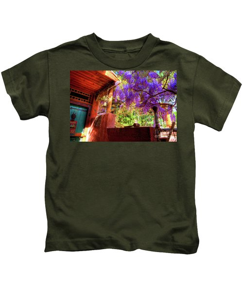 Bisbee Artist Home Kids T-Shirt