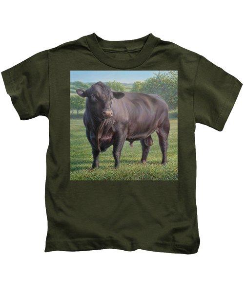 Black Angus Bull 2 Kids T-Shirt