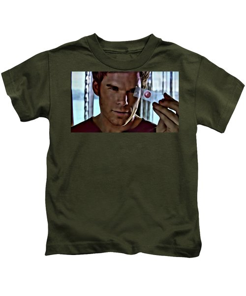 Blood Slide Dexter Kids T-Shirt