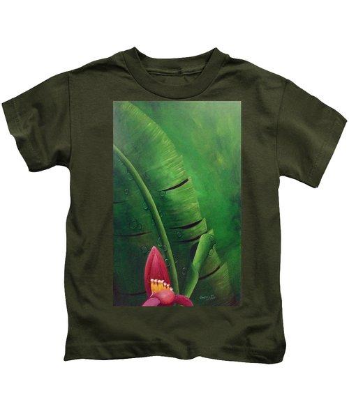 Blooming Banana Kids T-Shirt