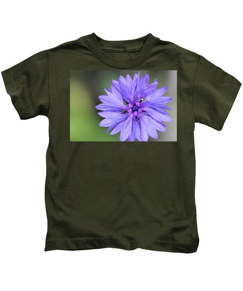Blue Button Kids T-Shirt