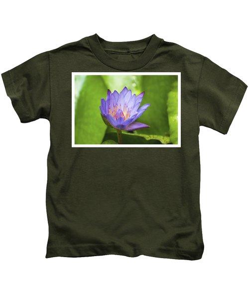 Blue Lotus Kids T-Shirt