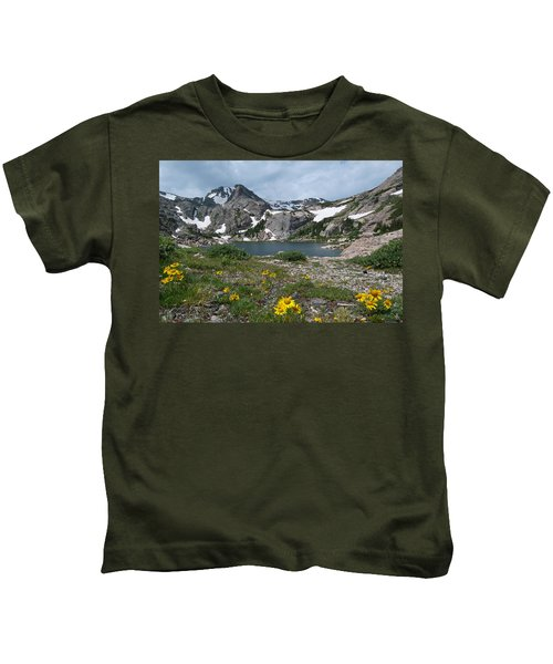 Bluebird Lake - Colorado Kids T-Shirt