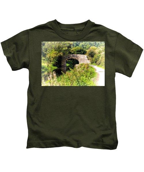 Bridge Over Still Waters Kids T-Shirt