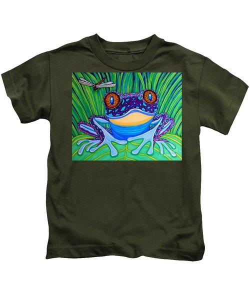 Bright Eyed Frog Kids T-Shirt