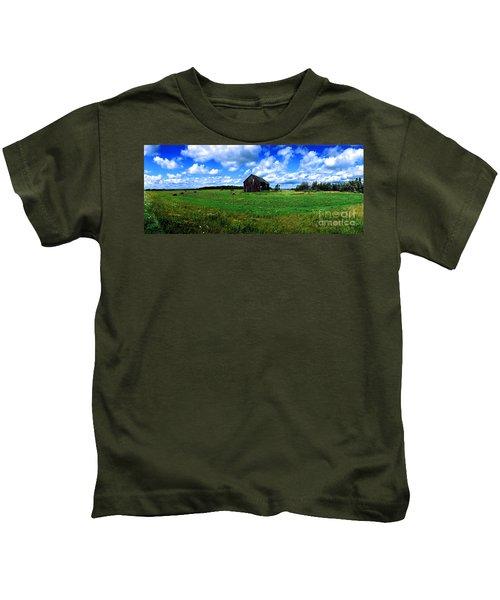 Brimley Farm Near  Sault Ste Marie Michigan  Kids T-Shirt