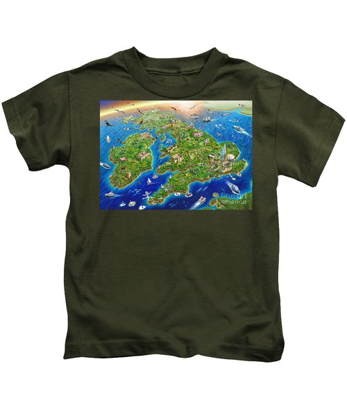 British Isles Kids T-Shirt