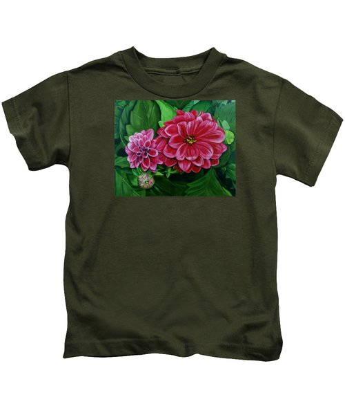Buds And Blossoms Kids T-Shirt