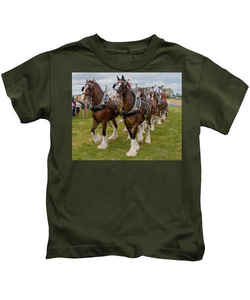 Budweiser Clydesdales Kids T-Shirt