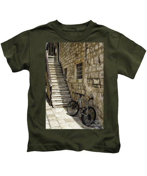 Building And Bike Kids T-Shirt