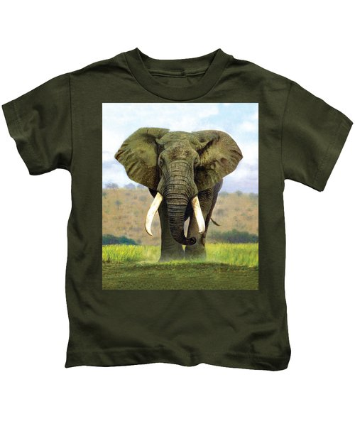 Bull Elephant Kids T-Shirt