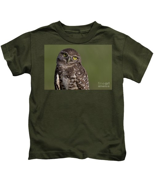 Burrowing Owl Kids T-Shirt