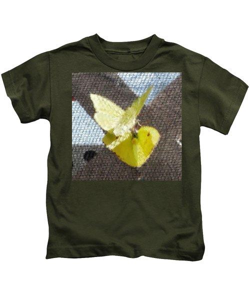 Sulfur Butterflies Mating Kids T-Shirt