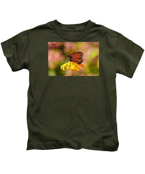 Butterfly Monet Kids T-Shirt