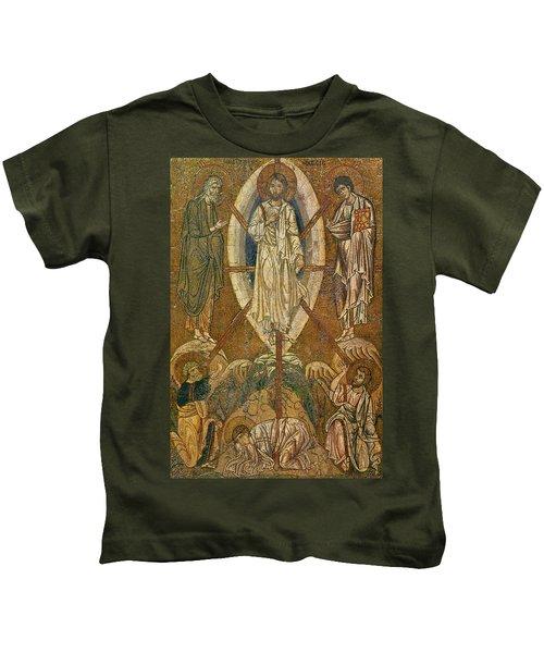 Byzantine Icon Depicting The Transfiguration Kids T-Shirt