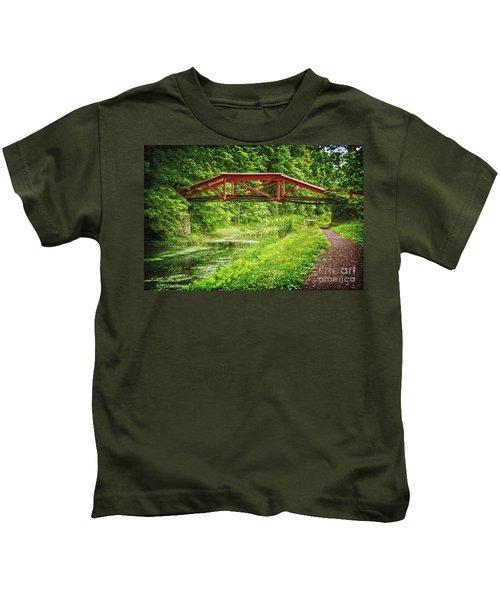 Canal Bridge Kids T-Shirt