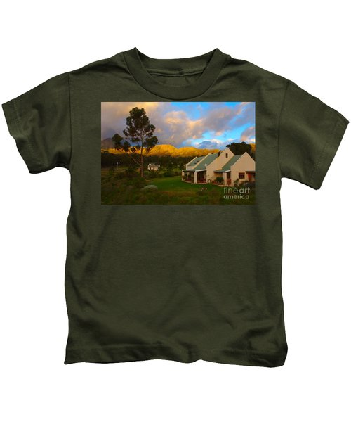 Cape Sunset Kids T-Shirt