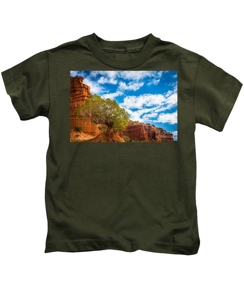Caprock Canyon Tree Kids T-Shirt
