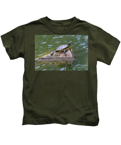 Captain Turtle Kids T-Shirt
