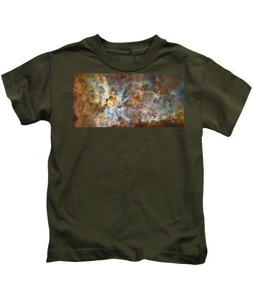 Carinae Nebula Kids T-Shirt