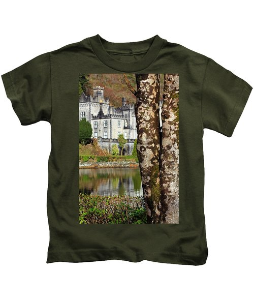 Castle Behind The Trees Kids T-Shirt