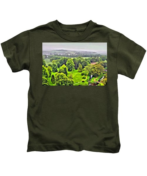 View From The Castle Kids T-Shirt