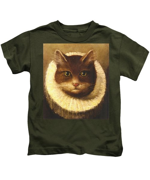 Cat In A Ruff Kids T-Shirt