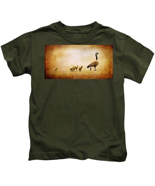 Catch Up Little Gosling Kids T-Shirt