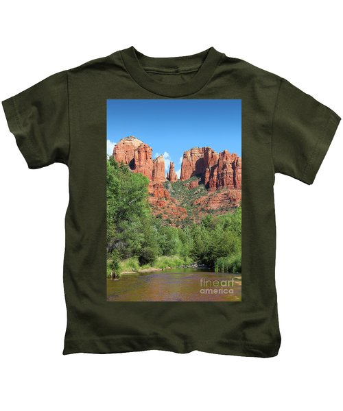 Cathedral Rock Sedona Kids T-Shirt