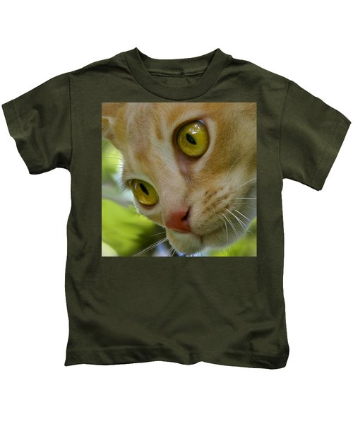 Cats Eyes Kids T-Shirt
