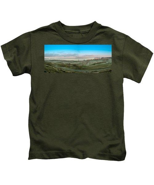 Chambers Bay Panorama Kids T-Shirt