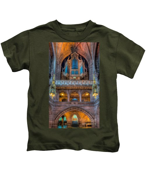 Chapel Organ Kids T-Shirt