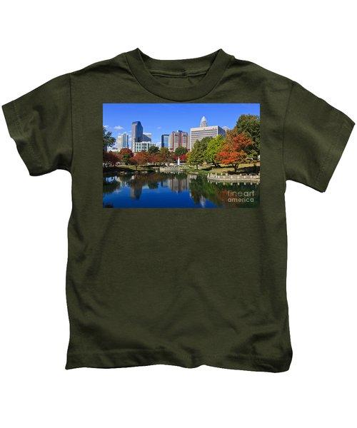 Charlotte North Carolina Marshall Park Kids T-Shirt