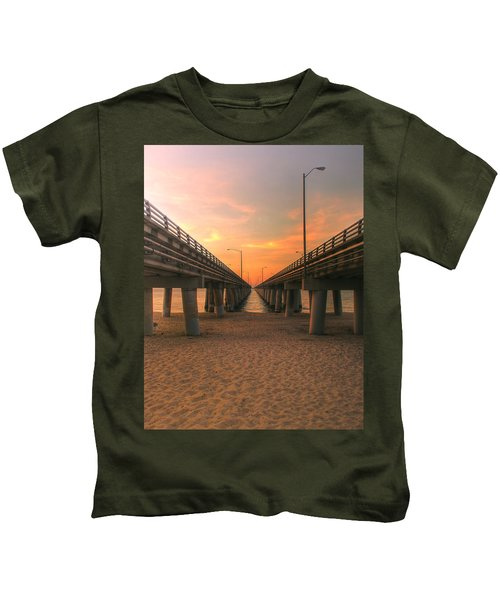 Chesapeake Bay Bridge IIi  Kids T-Shirt