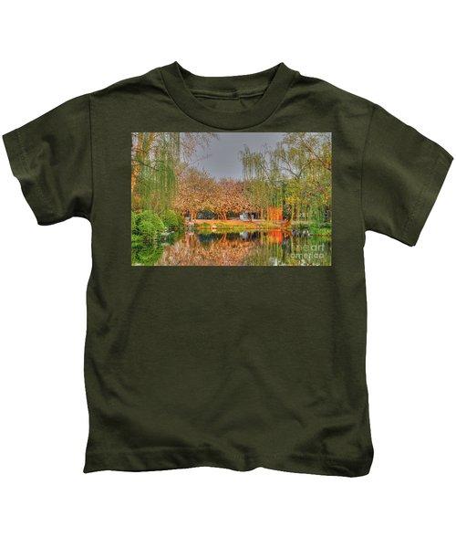 Chineese Garden Kids T-Shirt