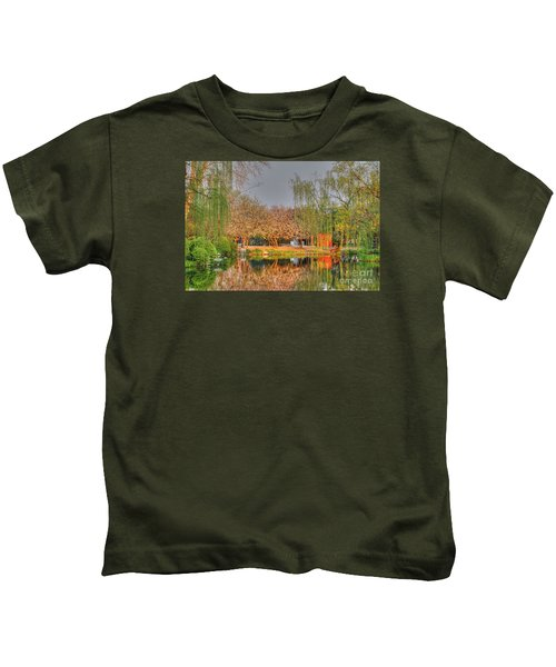 Chineese Garden Kids T-Shirt