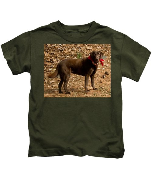 Chocolate Lab Kids T-Shirt