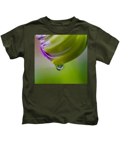 Raindrop Bud Kids T-Shirt