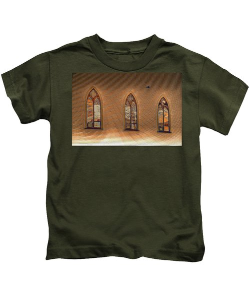 Church Windows Kids T-Shirt