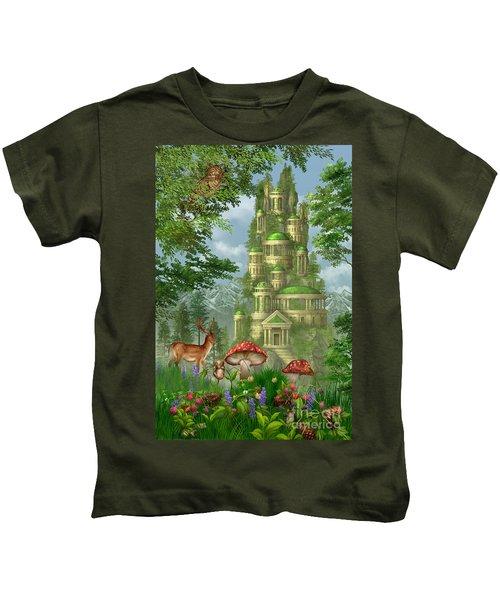 City Of Coins Kids T-Shirt