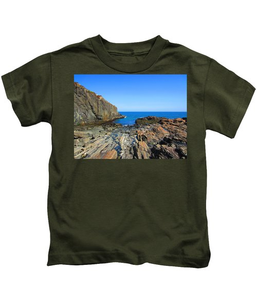 Cliff House Maine Coast Kids T-Shirt