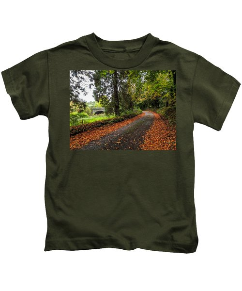 Clondegad Country Road Kids T-Shirt