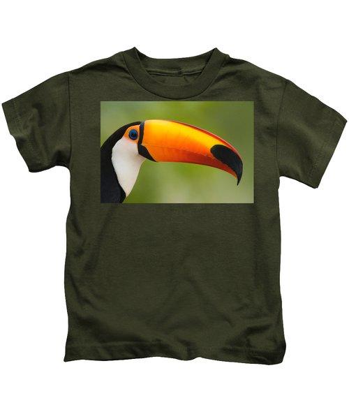 Close-up Of A Toco Toucan Ramphastos Kids T-Shirt