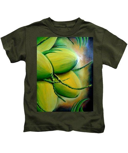 Coconut In Bloom Kids T-Shirt