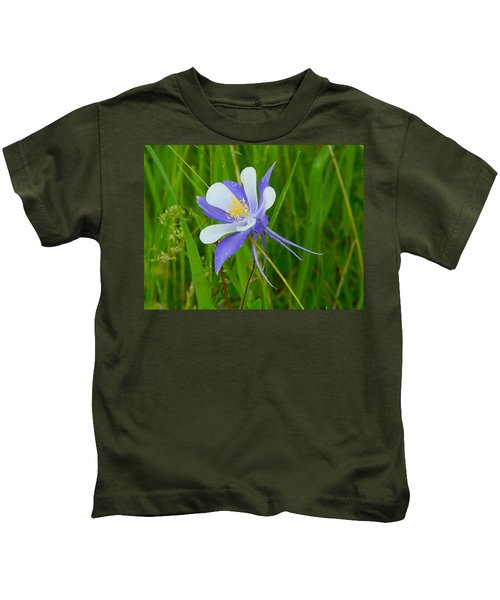 Colorado Columbine Kids T-Shirt
