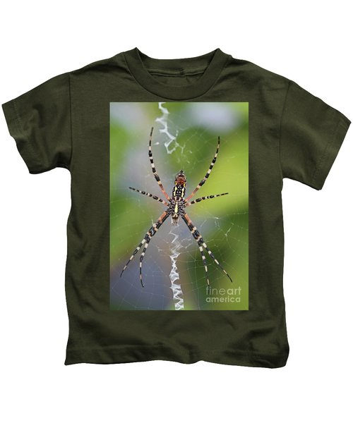 Colorful Spider Kids T-Shirt