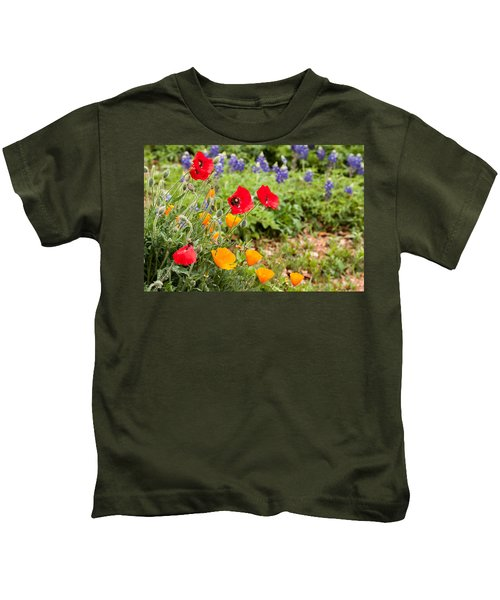Colors Of Spring Kids T-Shirt