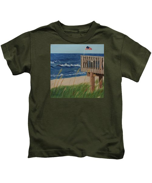 Colors On The Breeze Kids T-Shirt